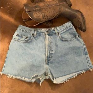 Vintage Gap Loose Fit High Waist Jean Shorts
